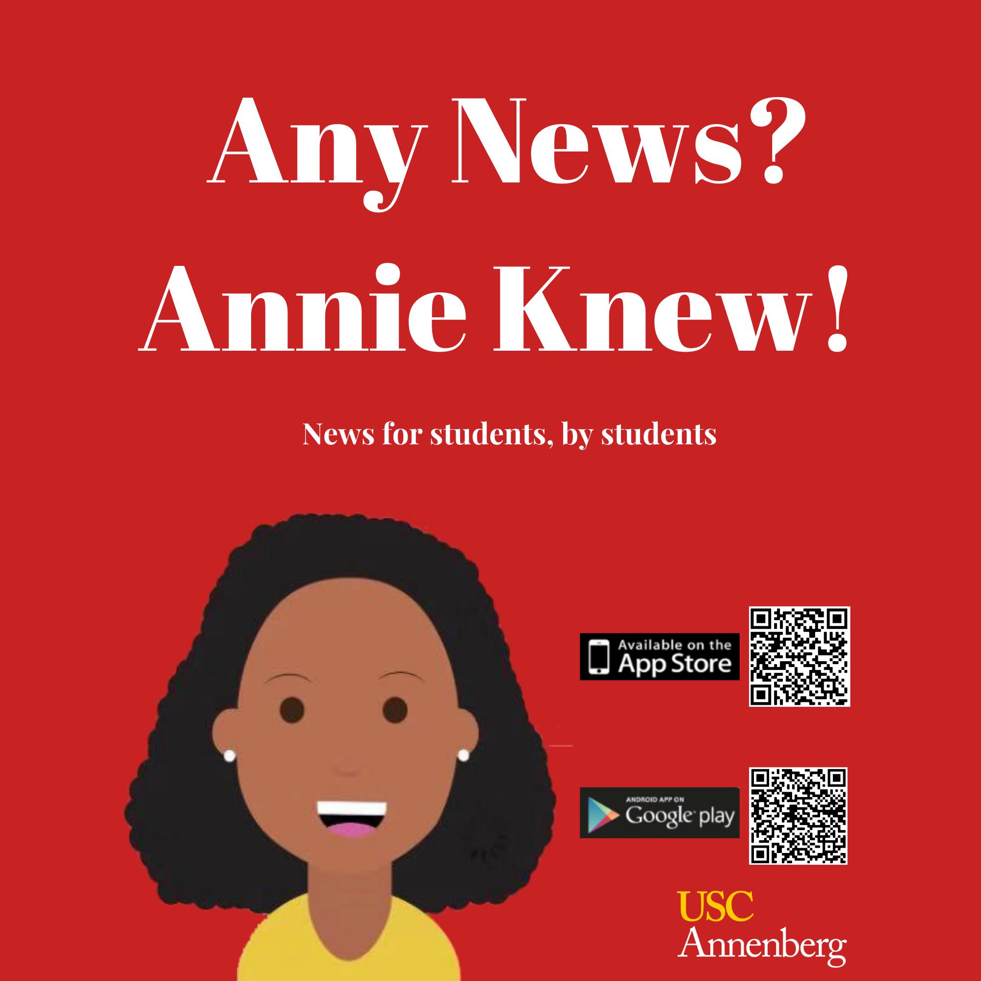 Annie Landing Page